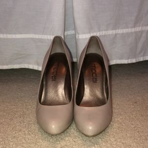 Nude Closed Toe Heels *GREAT CONDITION*